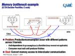 memory bottleneck example g 724 decoder post filter c code