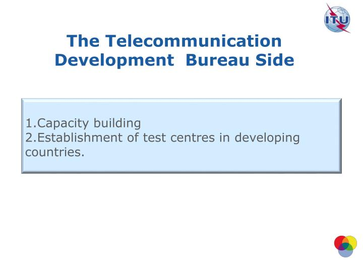 The Telecommunication Development
