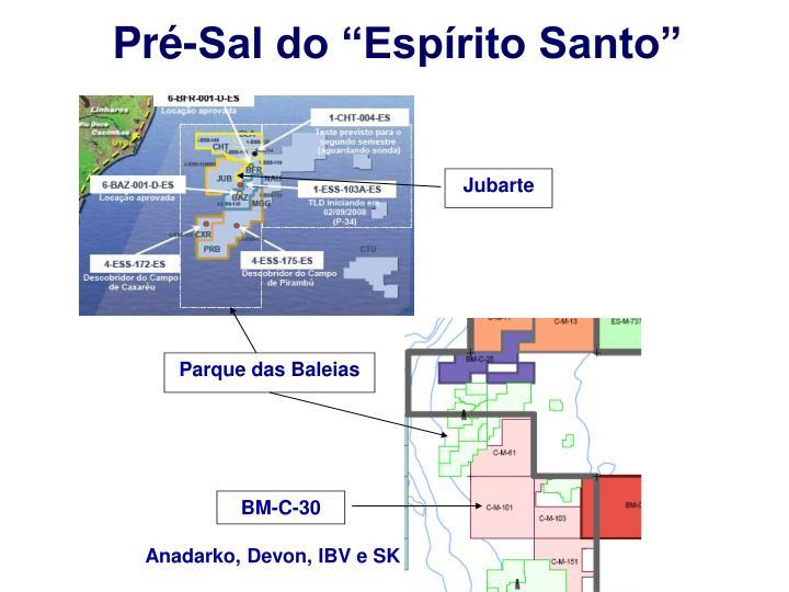 "Pré-Sal do ""Espírito Santo"""