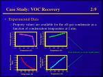 case study voc recovery 2 9