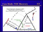 case study voc recovery 5 9