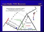 case study voc recovery 6 9