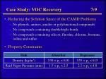 case study voc recovery 7 9