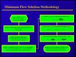 minimum flow solution methodology