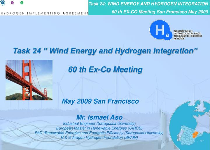 "Task 24 "" Wind Energy and Hydrogen Integration"""