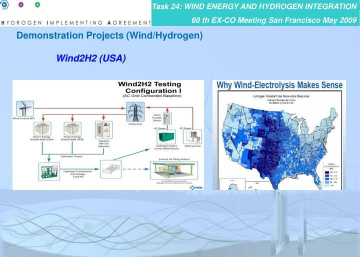 Demonstration Projects (Wind/Hydrogen)