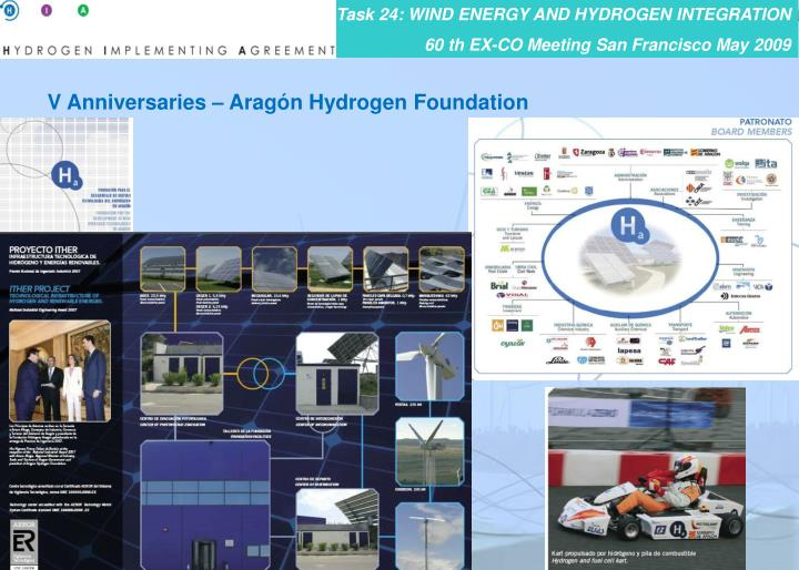 V Anniversaries – Aragón Hydrogen Foundation