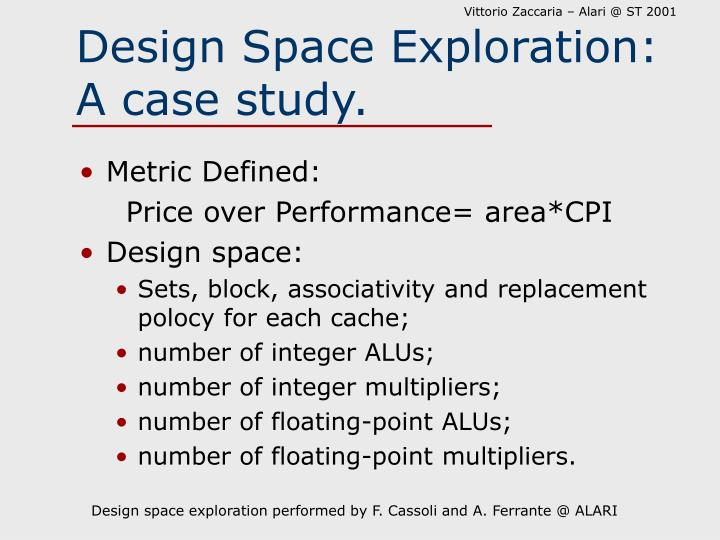 Design Space Exploration: