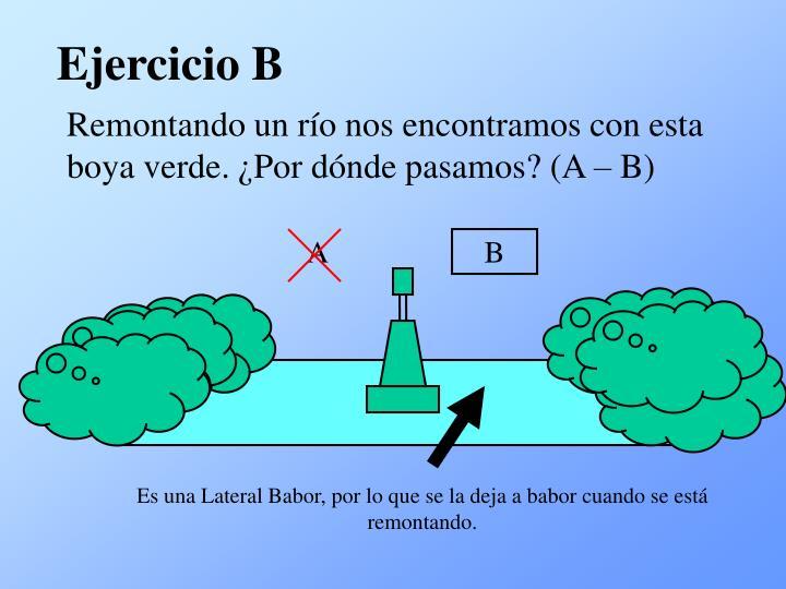 Ejercicio B