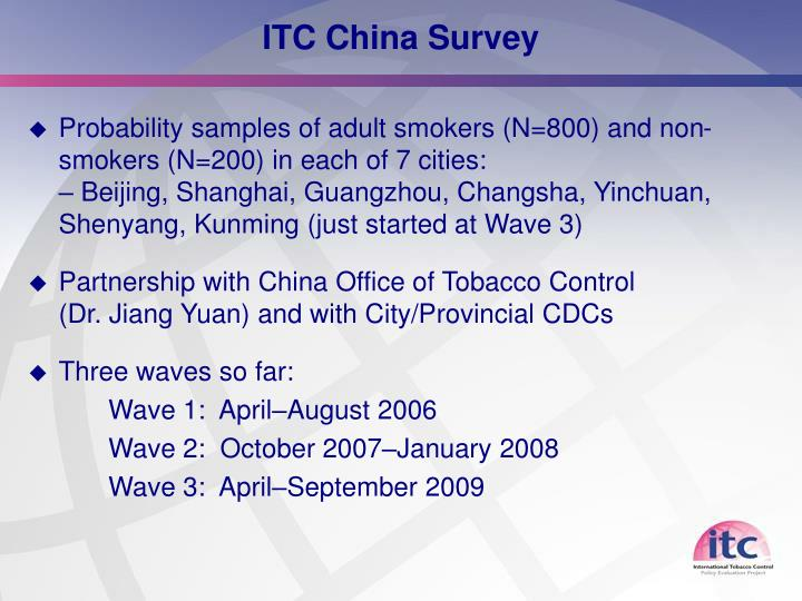 ITC China Survey