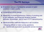 the itc surveys