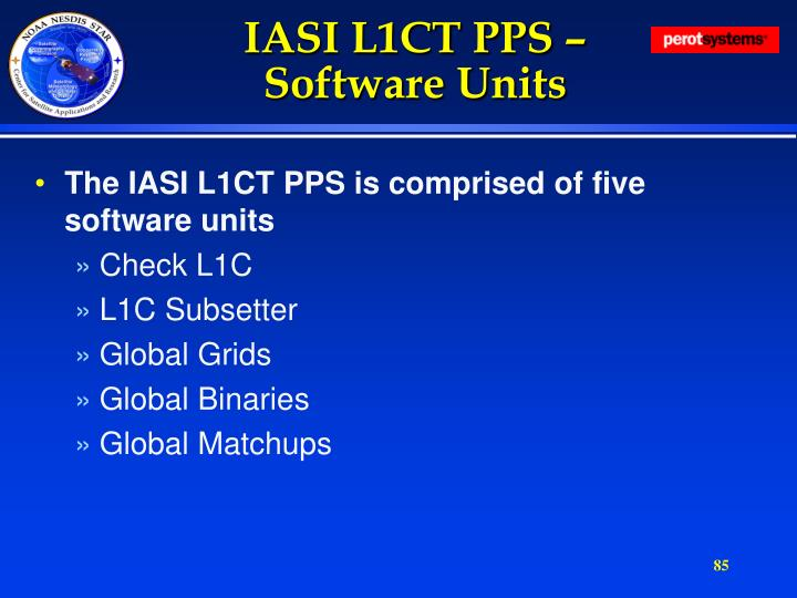 IASI L1CT PPS –
