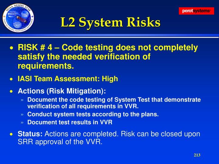 L2 System Risks
