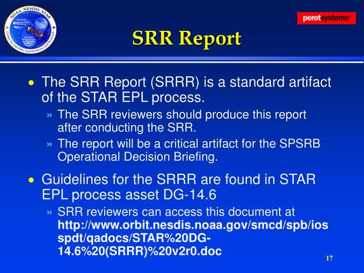 SRR Report