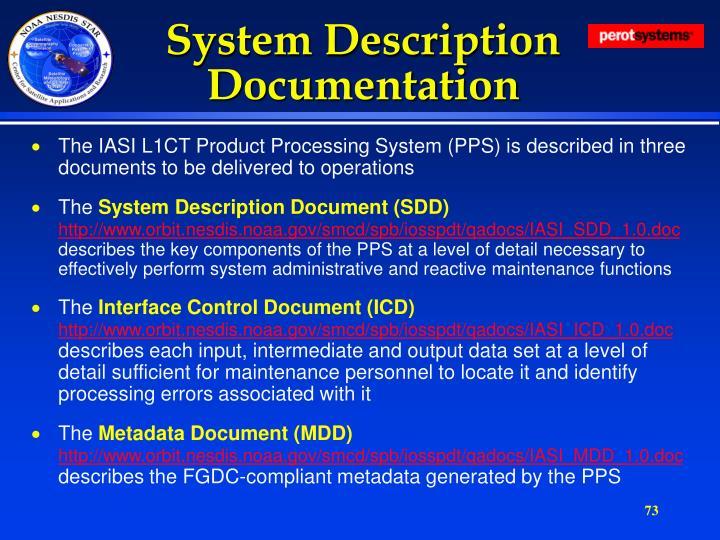 System Description Documentation
