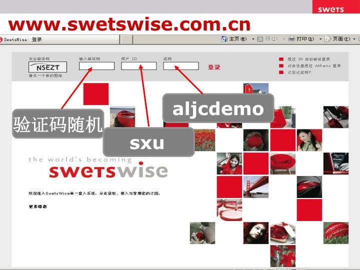 www.swetswise.com.cn