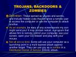 trojans backdoors zombies