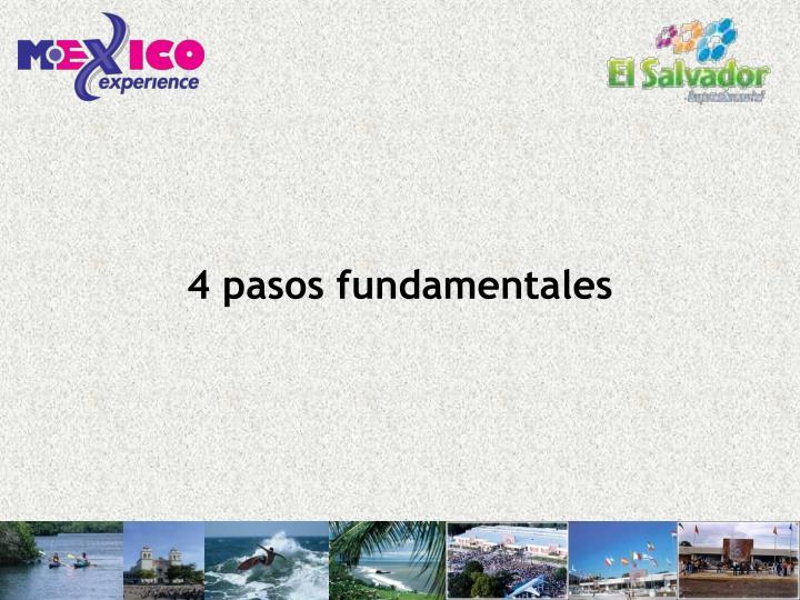 4 pasos fundamentales