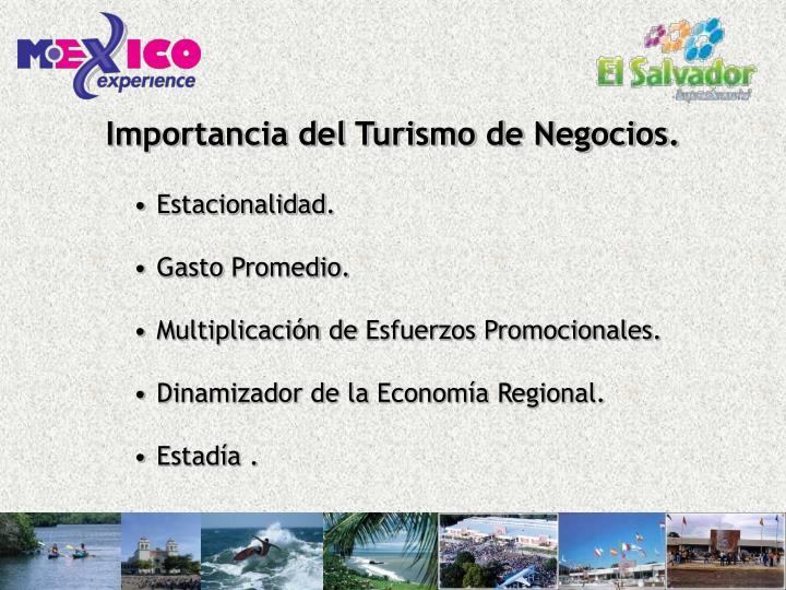 Importancia del Turismo de Negocios.