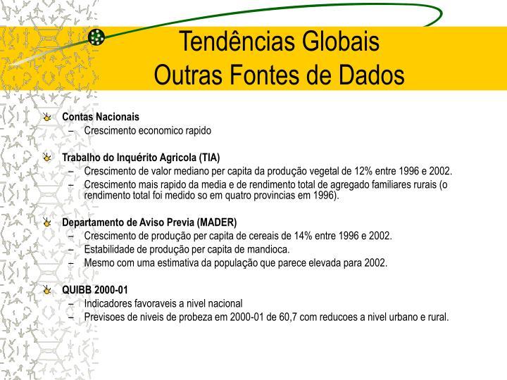 Tendências Globais