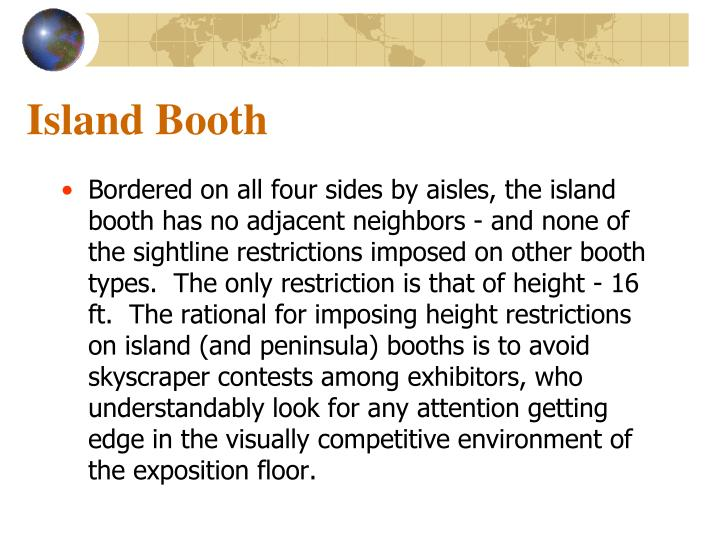 Island Booth