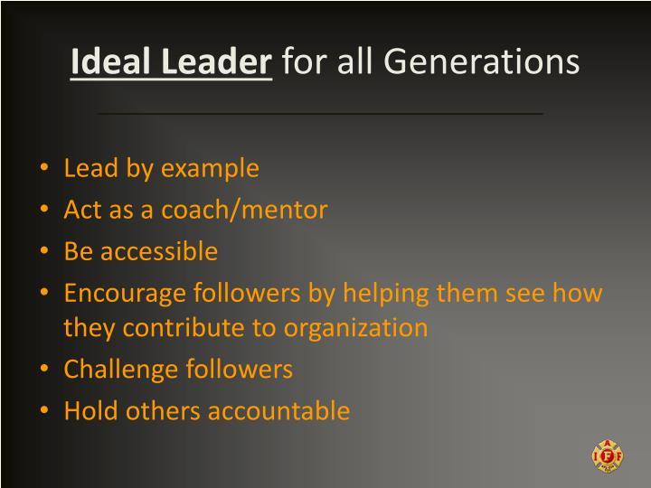 Ideal Leader