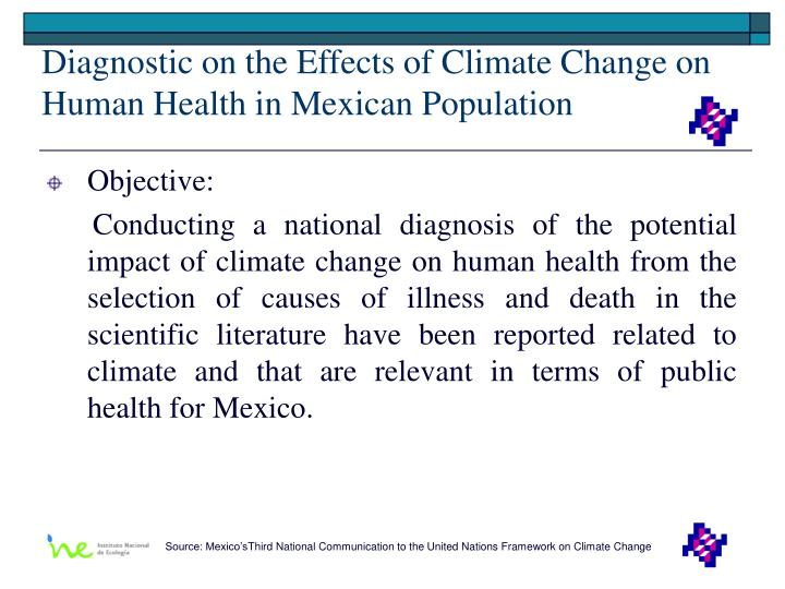 Diagnostic on the Effects of Climate Change on Human Health in Mexican Population