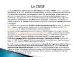le cnisf