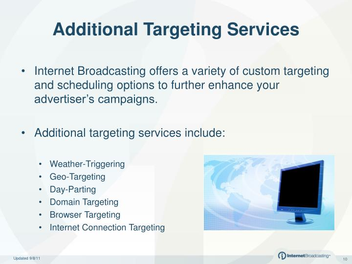 Additional Targeting Services