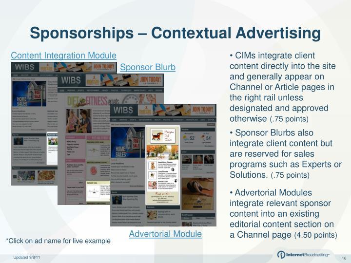 Content Integration Module