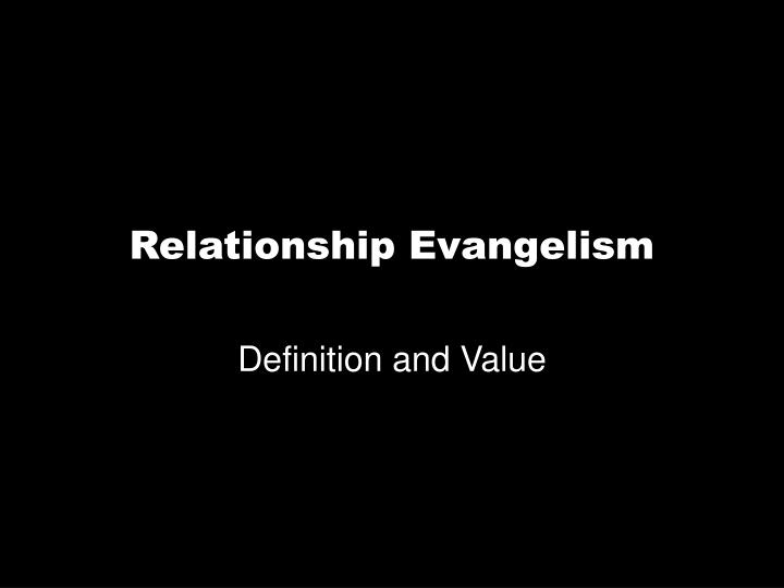 Definition and Value