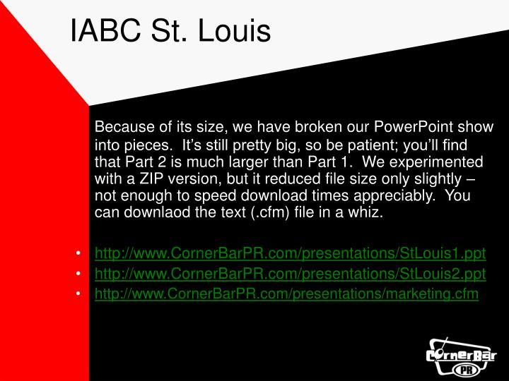IABC St. Louis