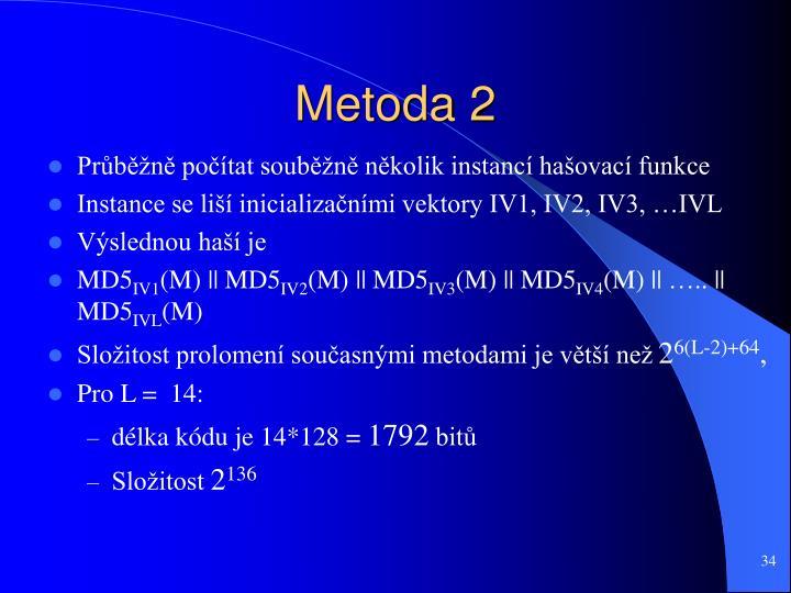 Metoda 2
