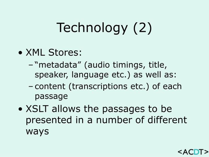 Technology (2)