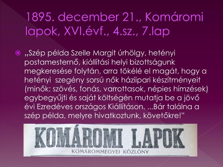 1895. december 21., Komáromi lapok,