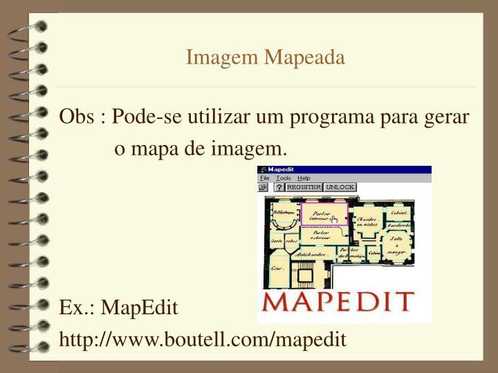 Imagem Mapeada