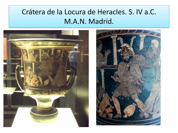 Crátera de la Locura de Heracles. S. IV a.C.