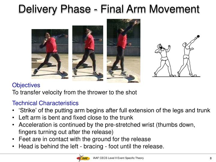 Delivery Phase - Final Arm Movement
