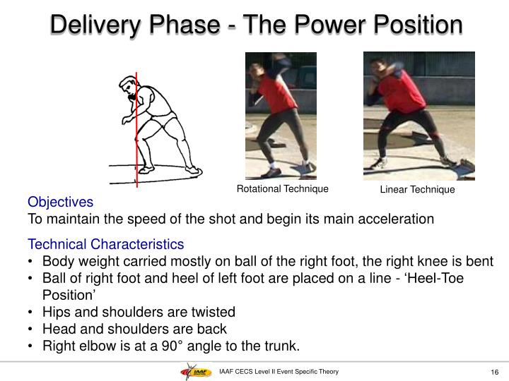 Delivery Phase - The Power Position
