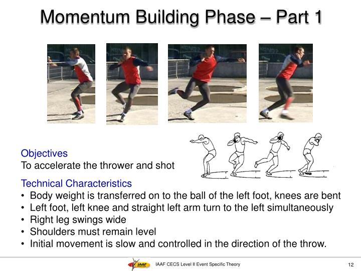 Momentum Building Phase