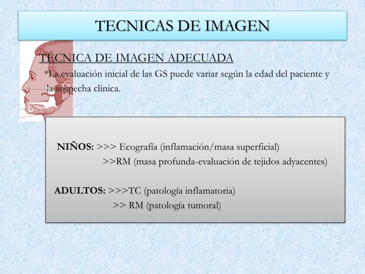 TECNICAS DE IMAGEN