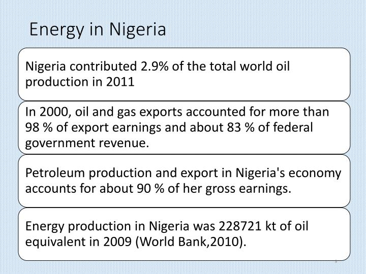 Energy in Nigeria