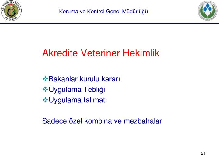 Akredite Veteriner Hekimlik