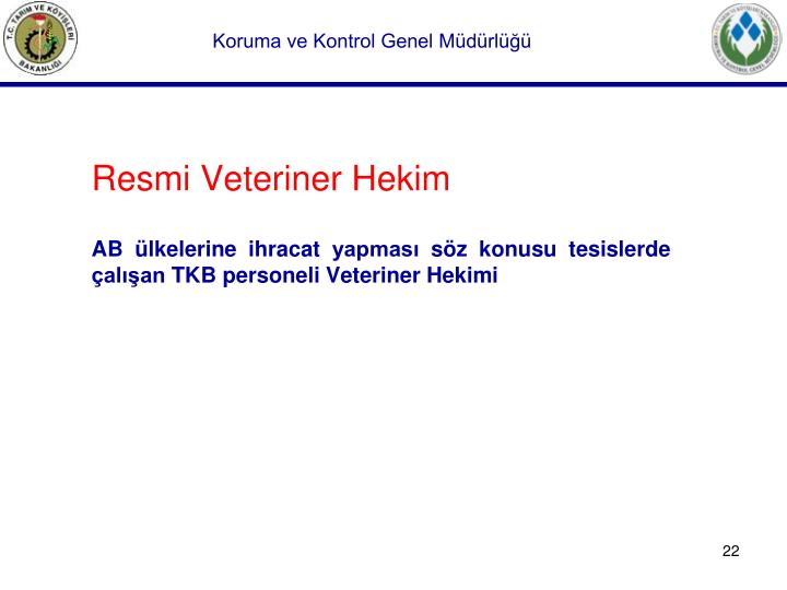 Resmi Veteriner Hekim