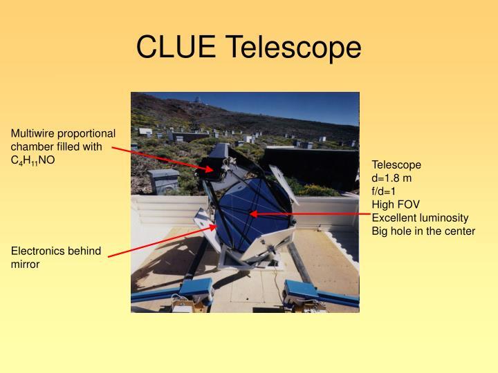 CLUE Telescope