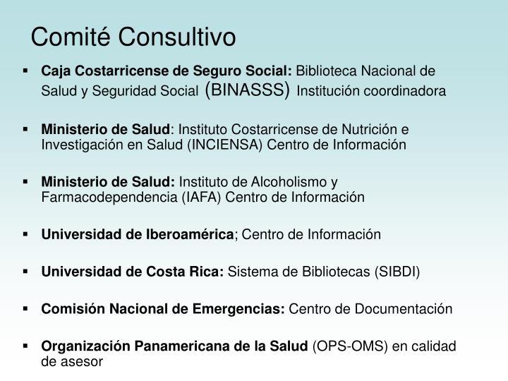 Comité Consultivo