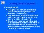 building statistical capacity1