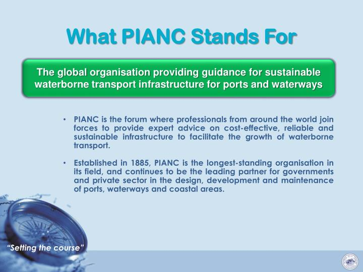 What pianc stands for