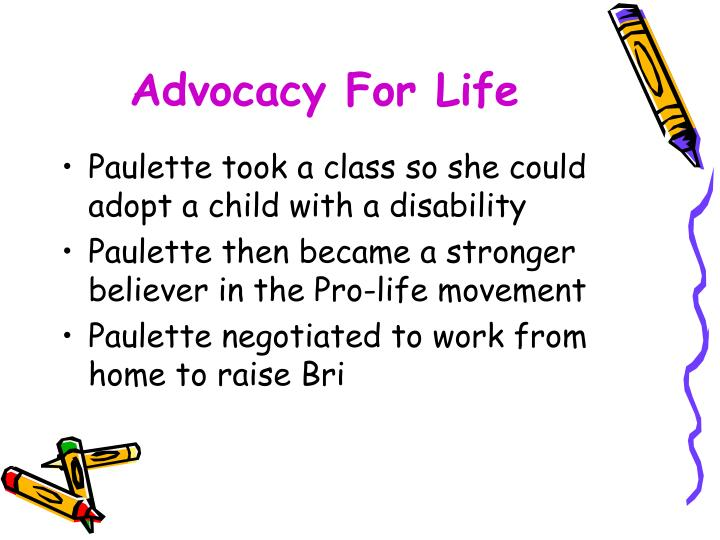 Advocacy For Life