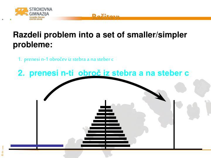 Rešitev: